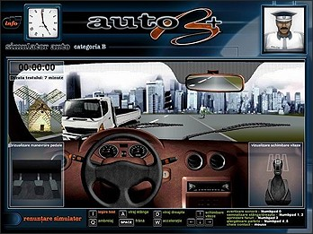 Simulator auto categoria B